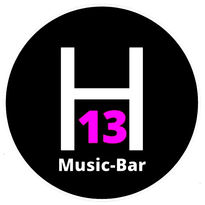 Logo HANGAR 13 MUSIC-BAR - Komomola